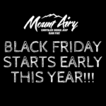 Black Friday Starts Early Mount Airy Jeep Ram Dodge