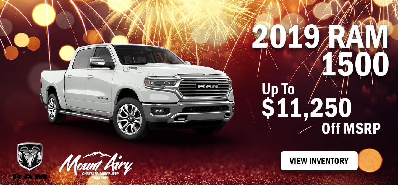 Best 2019 RAM 1500 on Sale Mount Airy, NC