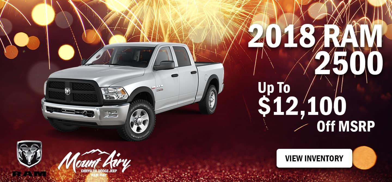 Best 2018 RAM 2500 on Sale Mount Airy, NC