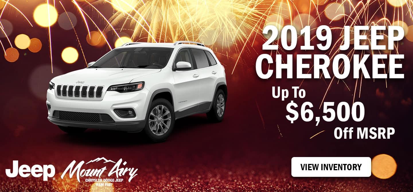 Best 2019 Jeep Cherokee for sale in Mount Airy, NC