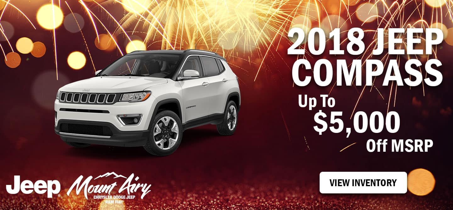 Best 2018 Jeep Compass for sale in Mount Airy, NC