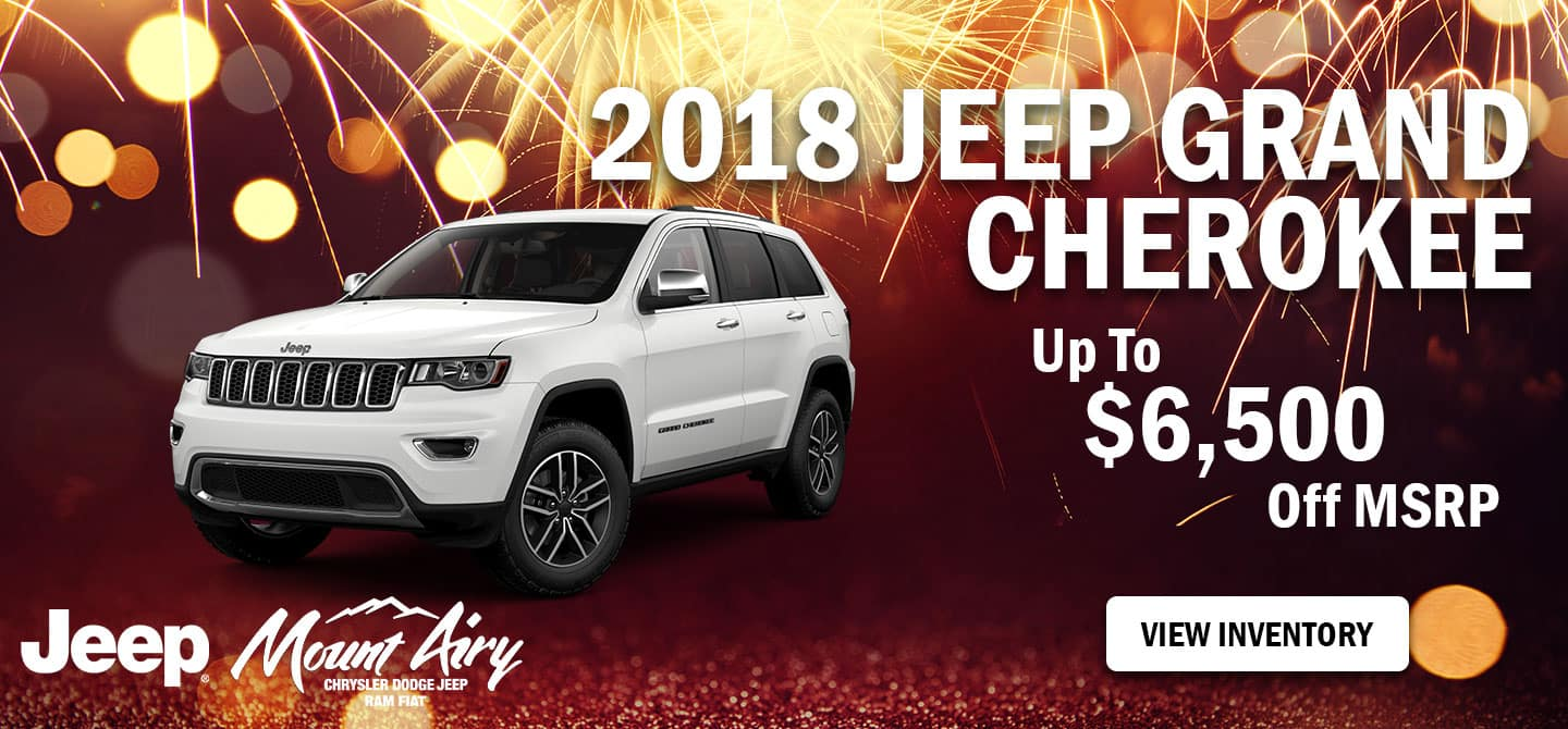 Best 2018 Jeep Grand Cherokee in Mount Airy,NC