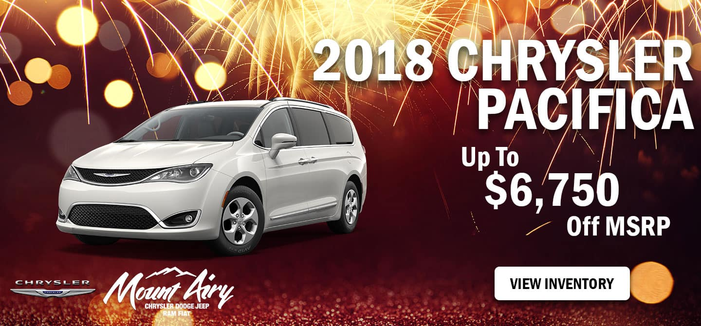 Best 2018 Chrysler Pacifica in Mount Airy, NC