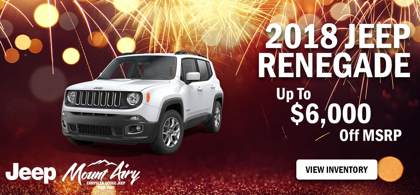 Best 2018 Jeep Renegade in Mount Airy, NC