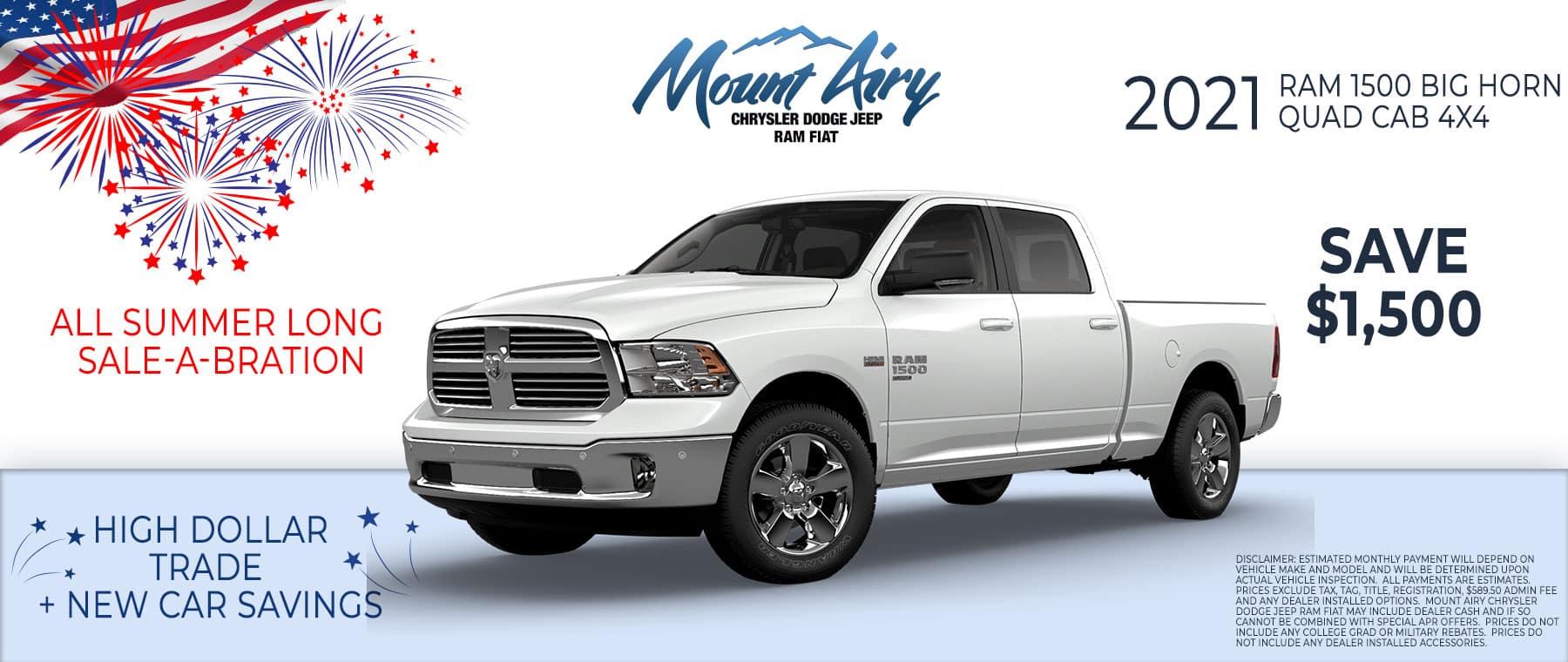 2021 Ram 1500 Mount Airy