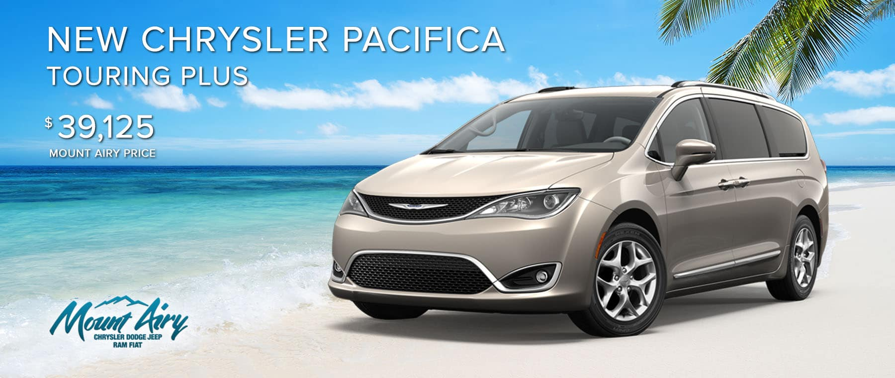 White New Chrysler Pacifica on sale