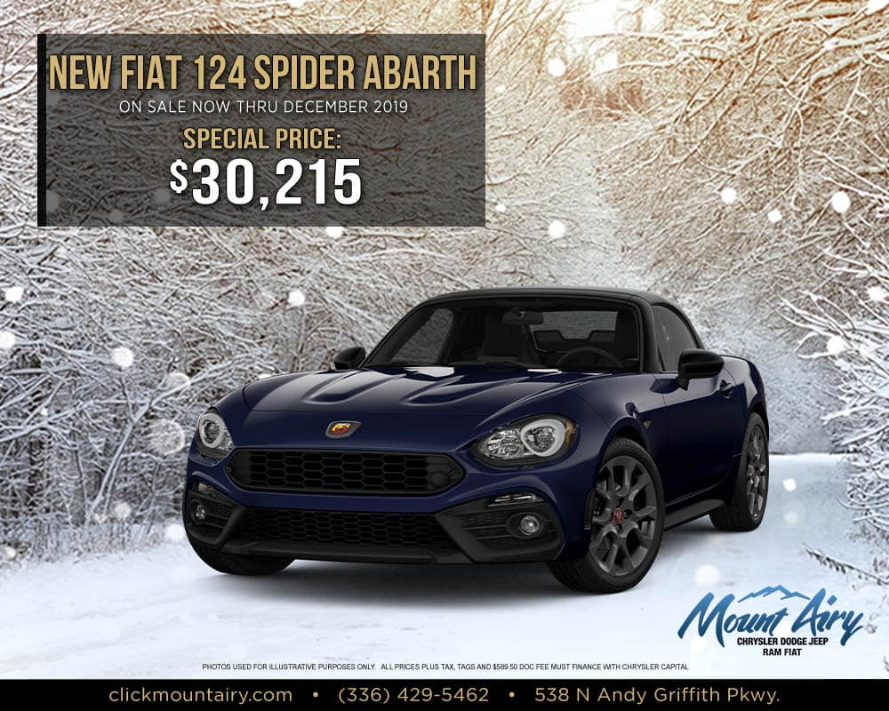 New Fiat 124 Spider Abarth