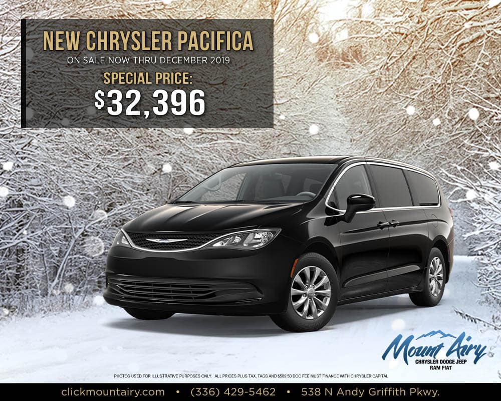 New Chrysler Pacifica