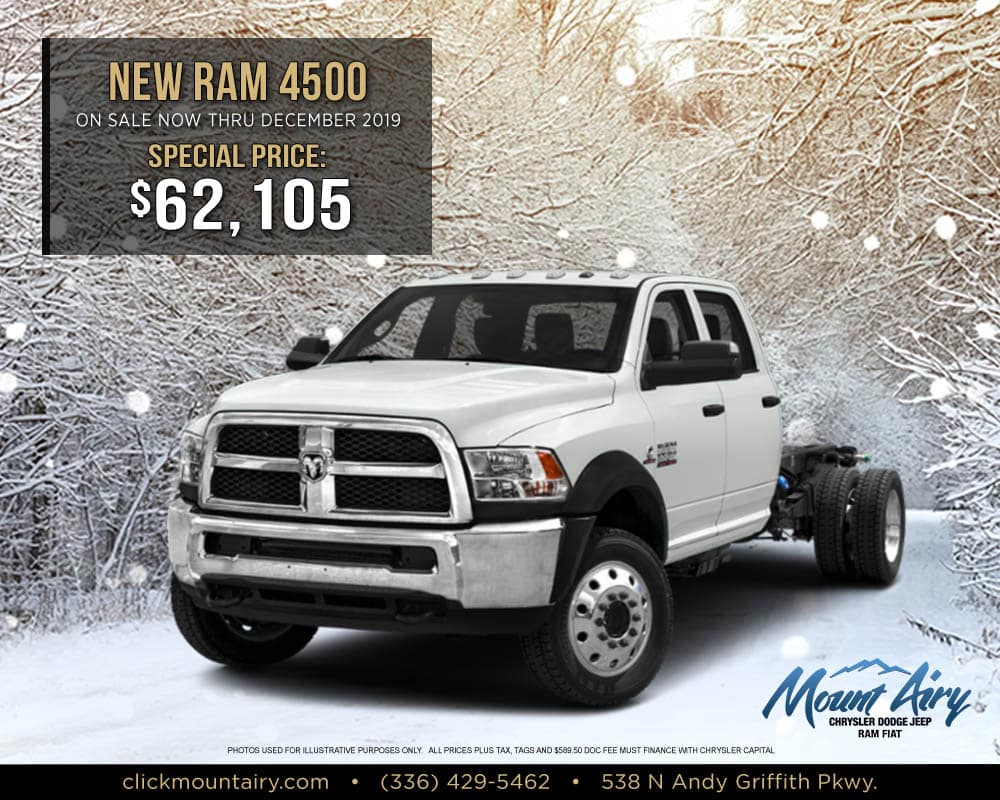 New Dodge Ram 4500