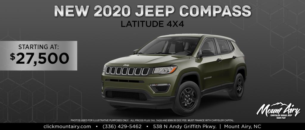 New Jeep Compass