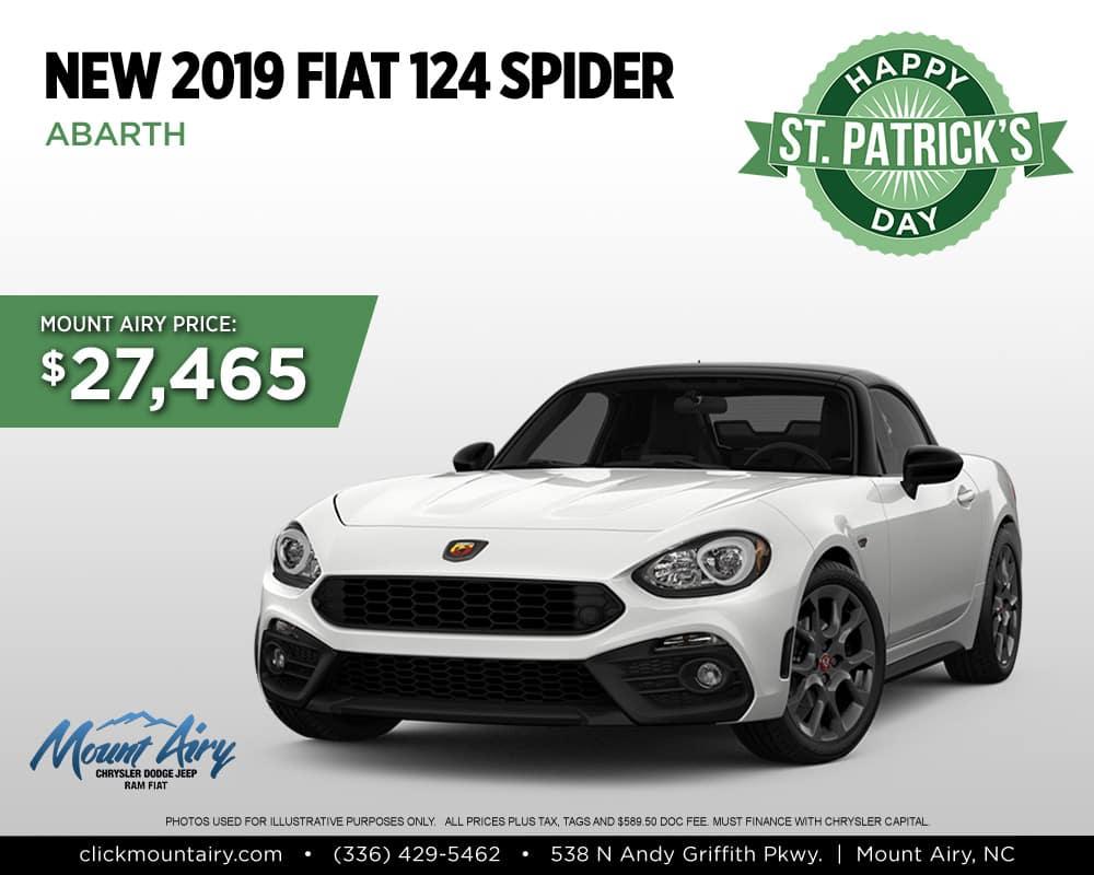 New Fiat Spider