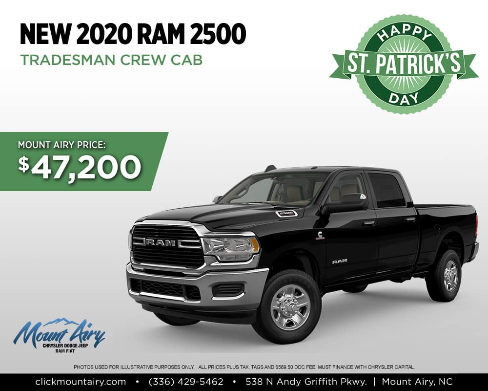 New RAM 2500