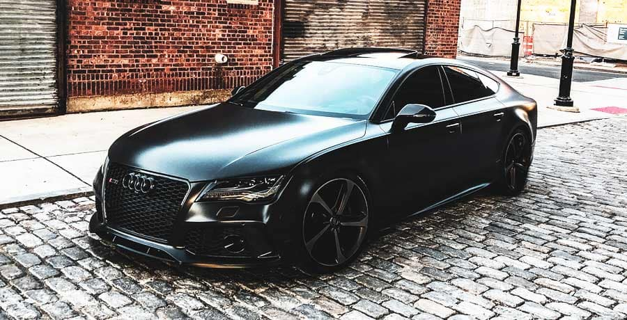 Black Audi S5 Coupe