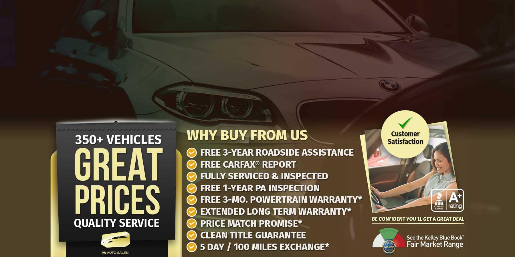 Used cars for sale in Philly at PA Auto Sales