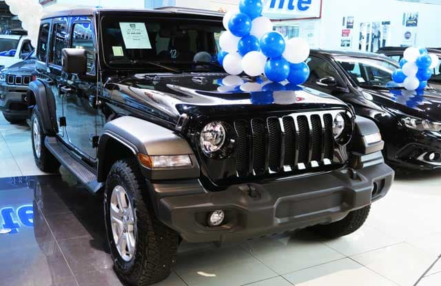 Jeep Wrangler Unlimited 3.6 Sport Trail Rated 2019