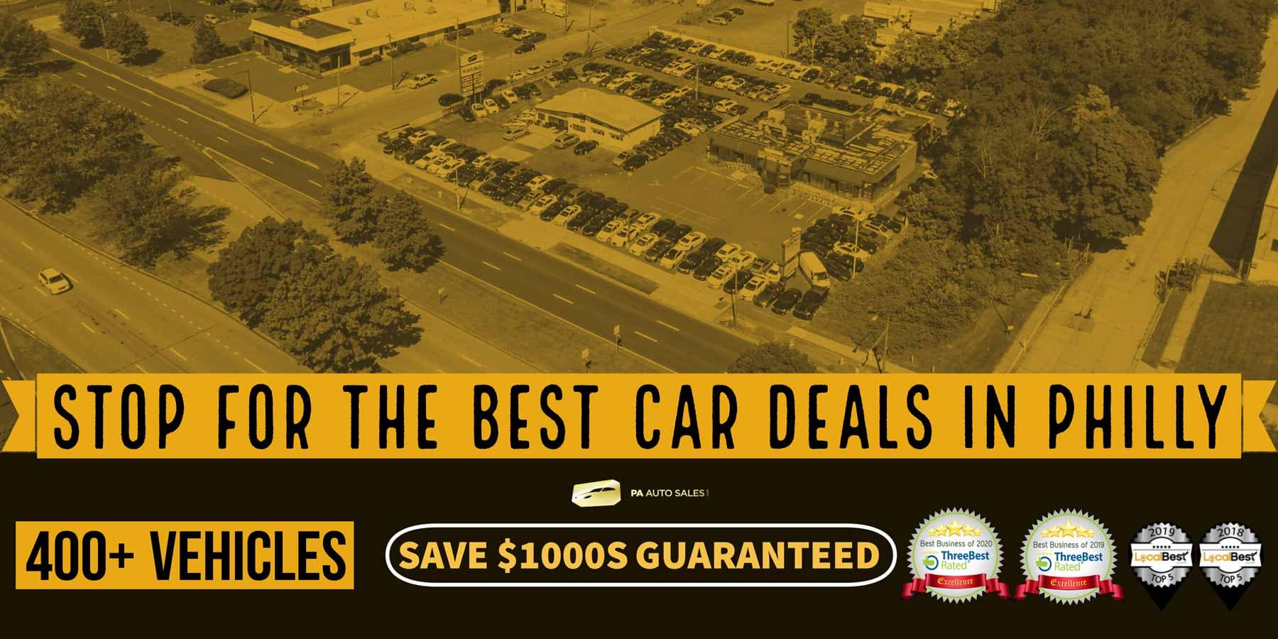 Stop for the best CAR DEALS in Philly