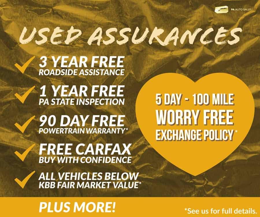 Used Assurances