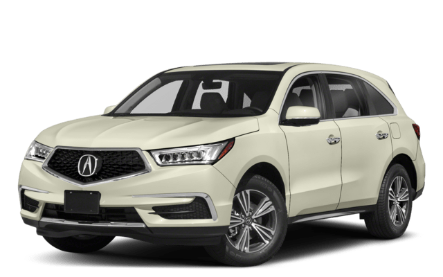 2019 Acura MDX Angled Badge