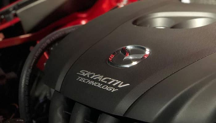 2019 Mazda CX-3 Skyactive Technology Engine Close UP
