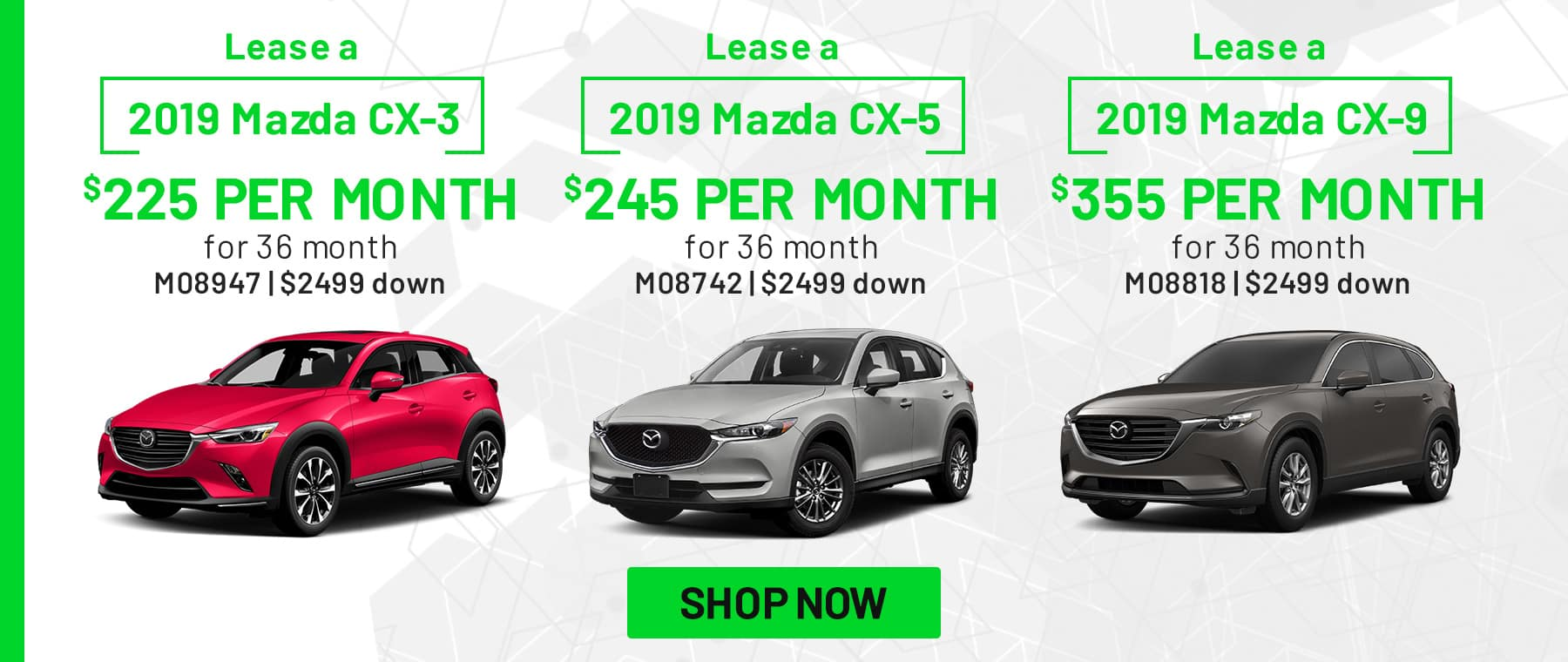 Power Mazda March Offers