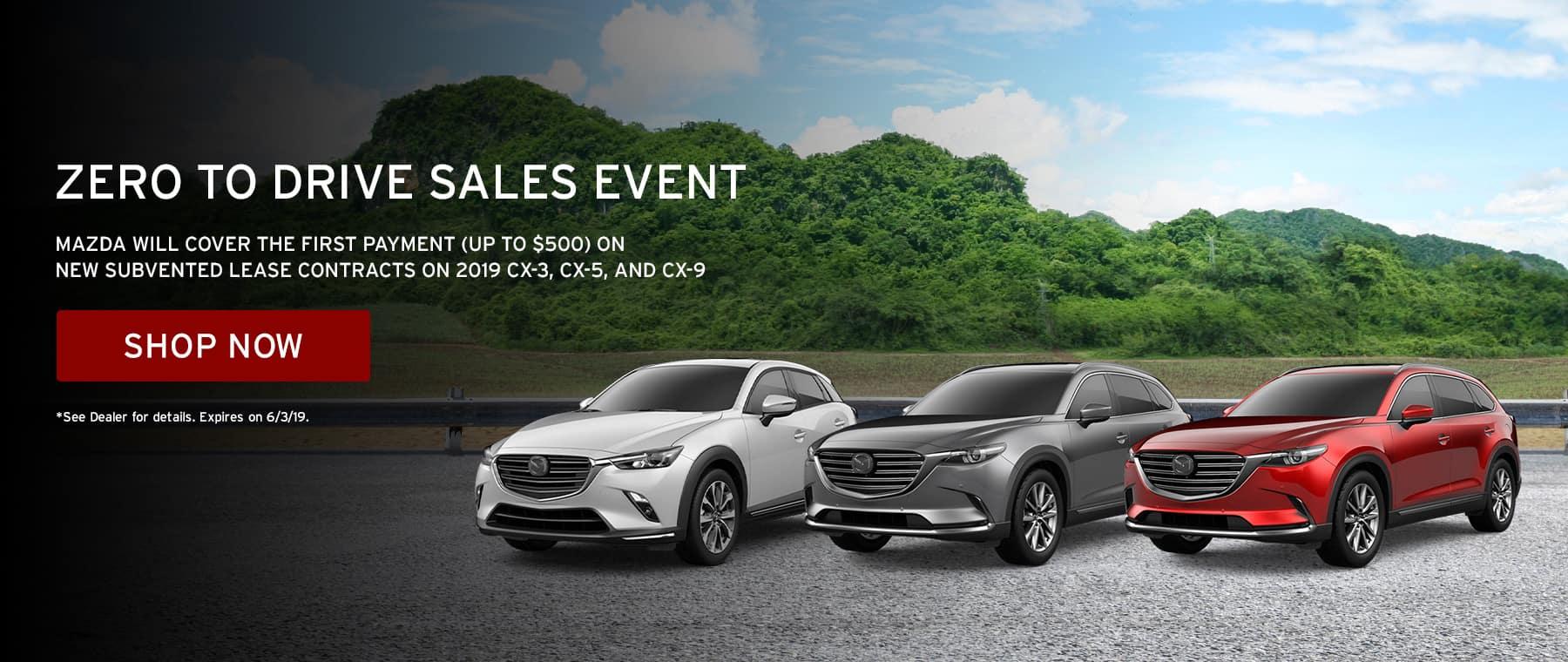 Zero to Drive Sales Event