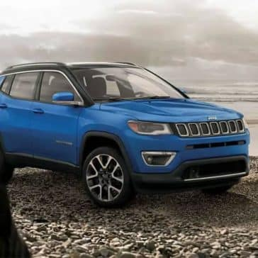 Blue 2019 Jeep Compass