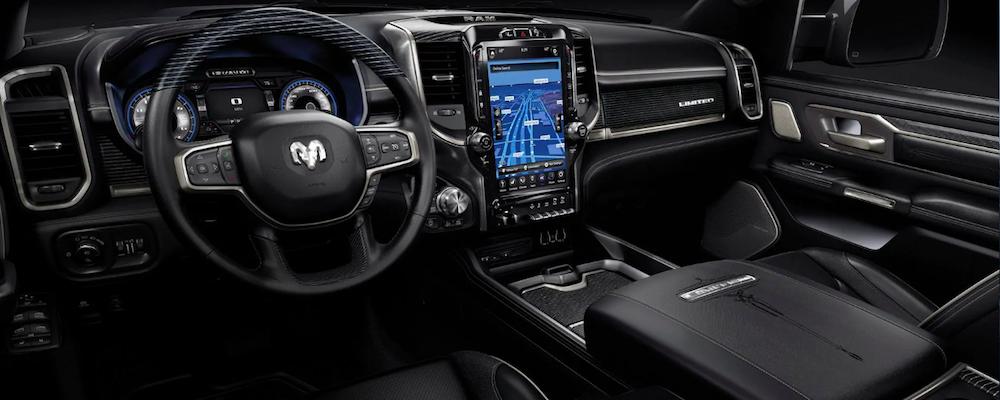 Ram 1500 interior and dashboard