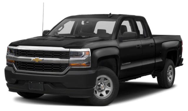 2019 Black Chevy Silverado 2