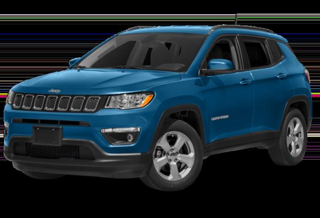 Blue Jeep Compass