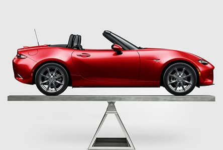 The 2019 Mazda MX-5, available at Forest City Mazda