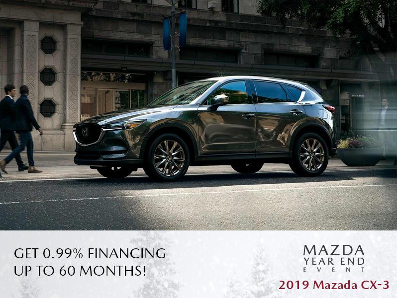 New 2019 Mazda CX-3 - The Mazda Year End Event