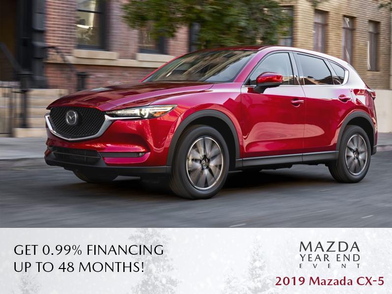 New Mazda CX-5 - The Mazda Year End Event