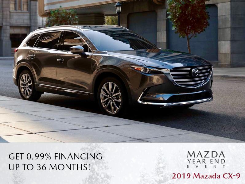 New Mazda CX-9 - The Mazda Year End Event