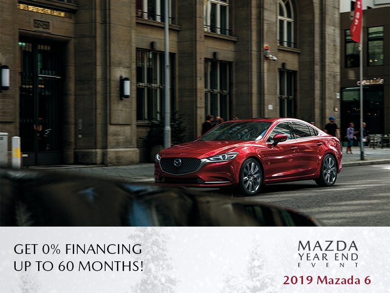 New 2019 Mazda6 - The Mazda Year End Event