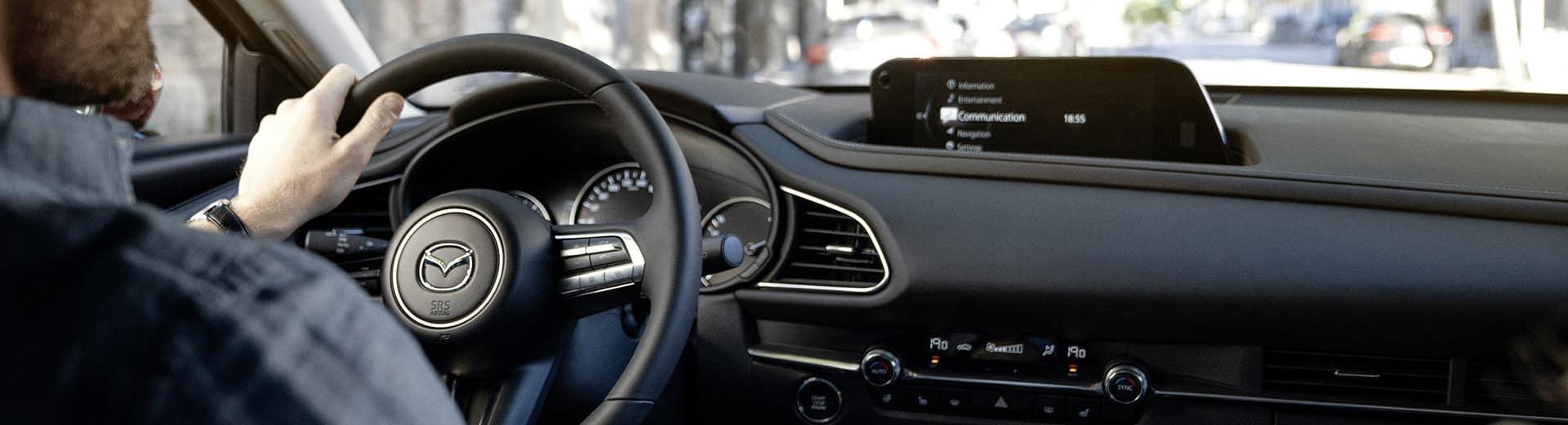 Mazda CX-30 - Available Mazda Connect