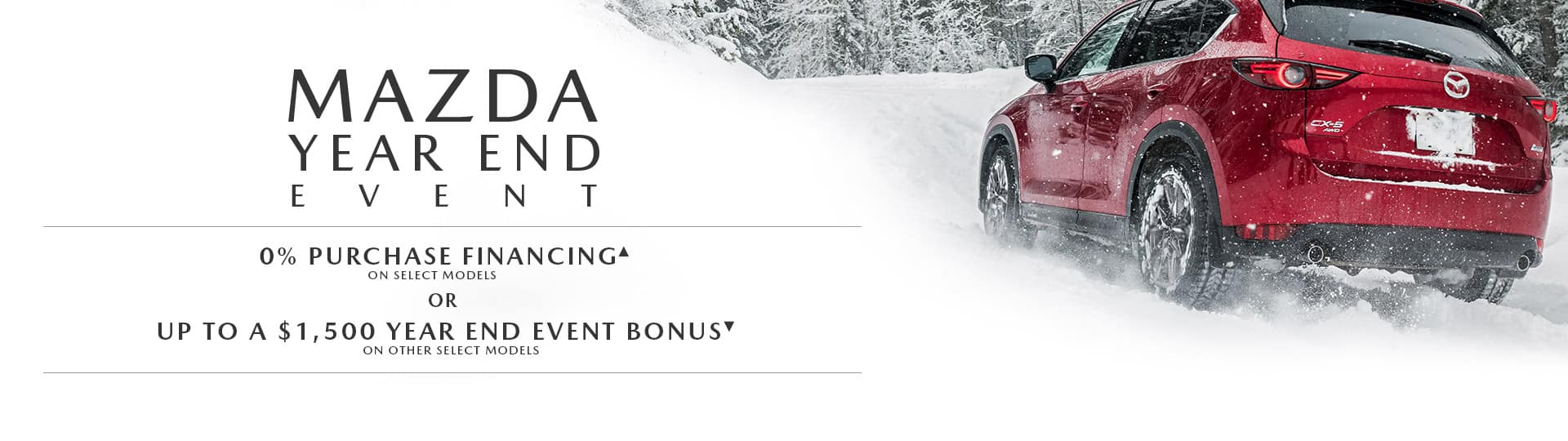 The Mazda Year End Event