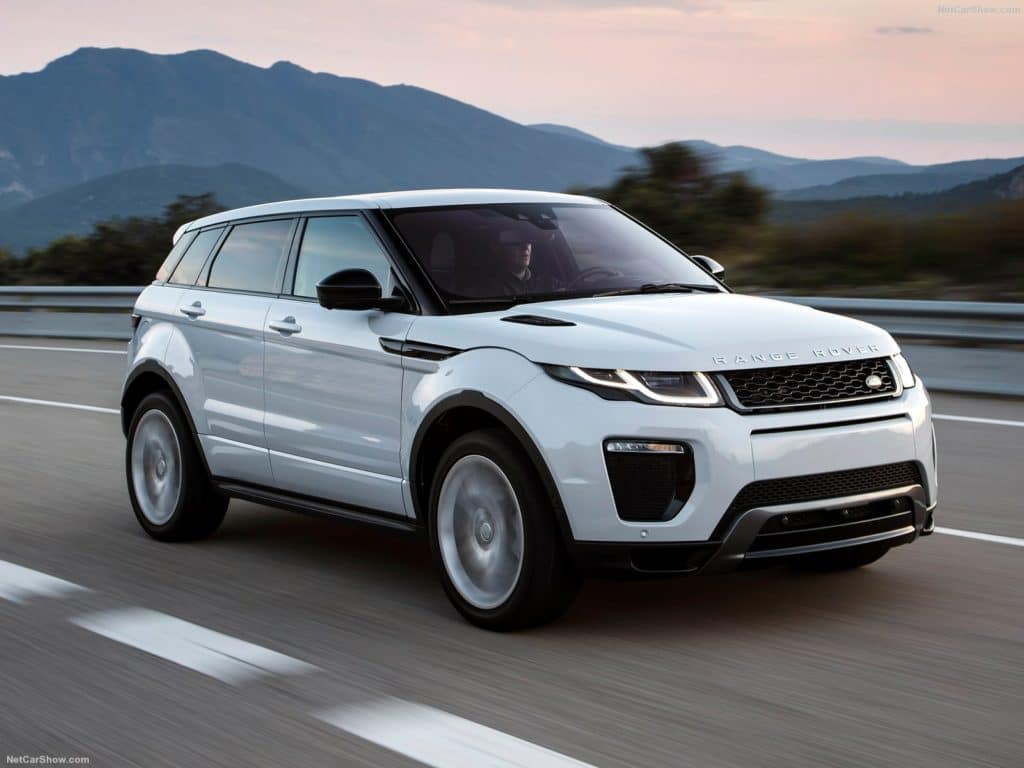 Special 1.9% APR for 60 Months On 2017 Range Rover Evoque