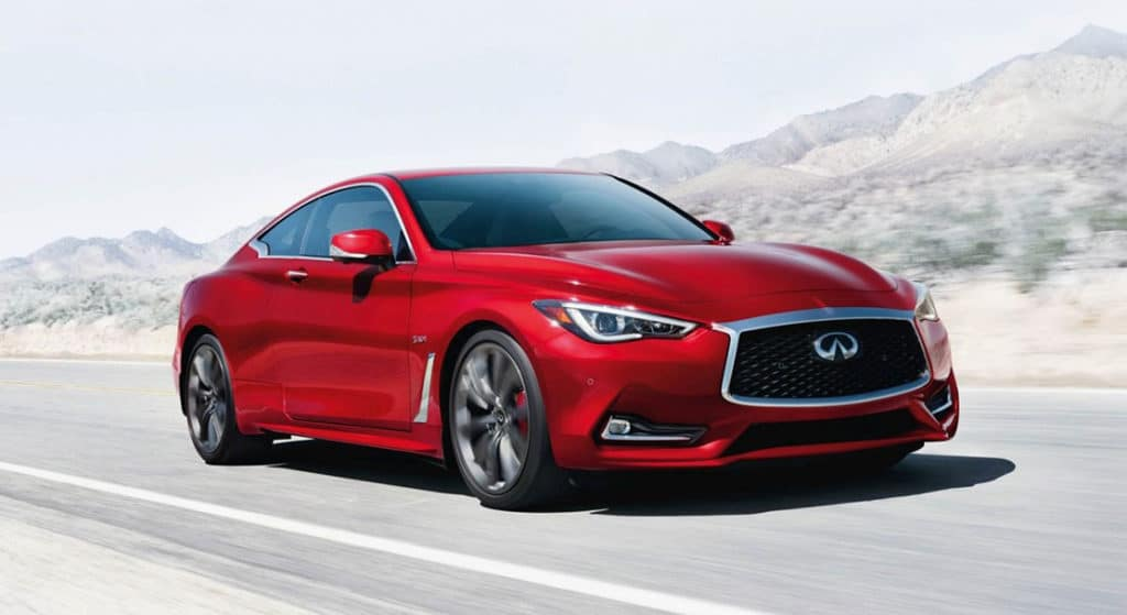 Special 2.9% APR for 60 Months on 2018 INFINITI Q60 Coupe