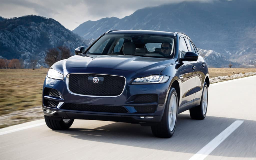 1.9% APR for 60 Months and $1,000 Allowance Credit On All New 2018 Jaguar F-PACE SUVs