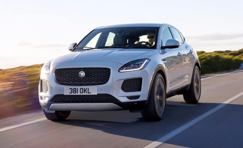 1.9% APR for 60 Months and $1,000 Allowance Credit On All New 2018 Jaguar E-PACE Crossovers