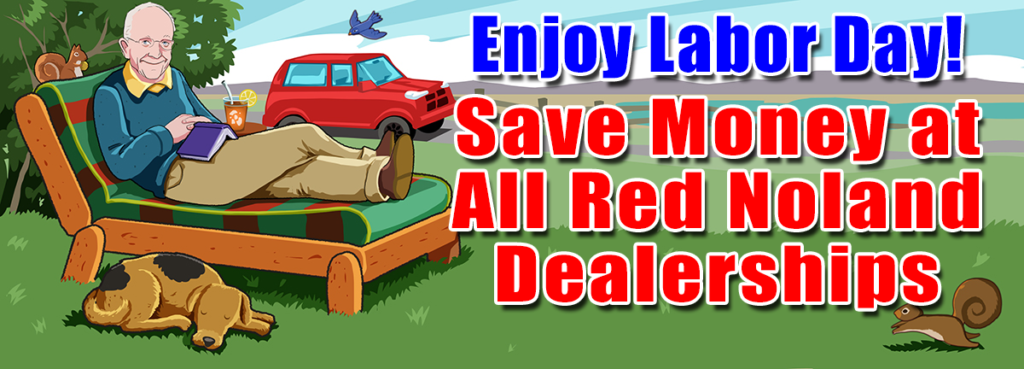 2018 Labor Day Savings Certificate at Red Noland Auto Group in Colorado Springs