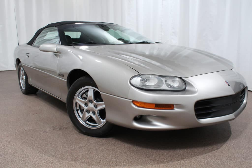 used 2000 Chevrolet Camaro Z28 Convertible for sale at red noland auto group pre-owned in colorado springs