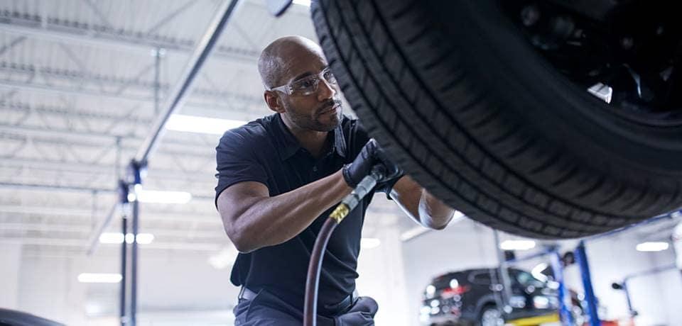 Mazda Tire Service