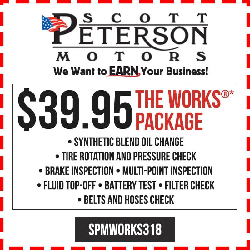 Service specials scott peterson motors for Scott peterson motors belle fourche