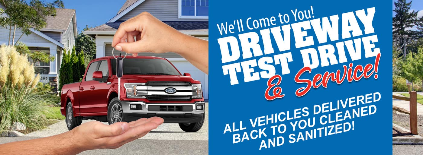 Scott Peterson Motors Driveway Test Drive & Service