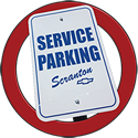 scranton service parking