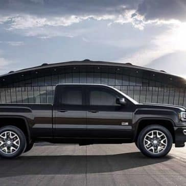 2018 GMC Sierra 1500 side profile