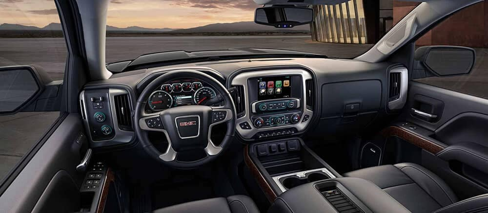2018 GMC Sierra 1500 dashboard