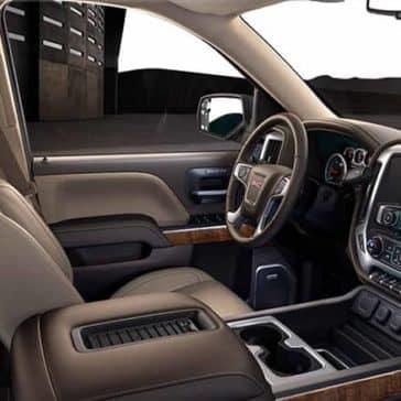 2018 GMC Sierra 1500 interior cabin