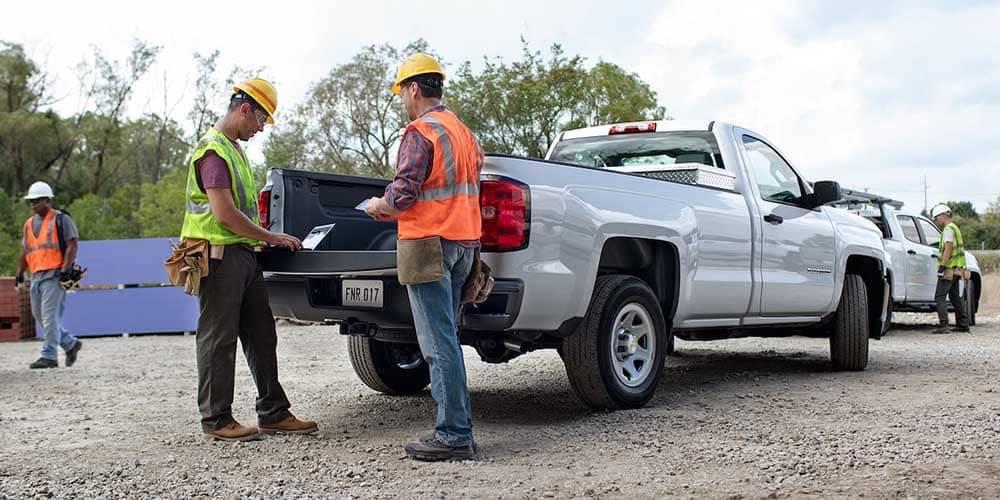 2018 Chevy Silverado 1500 truck bed